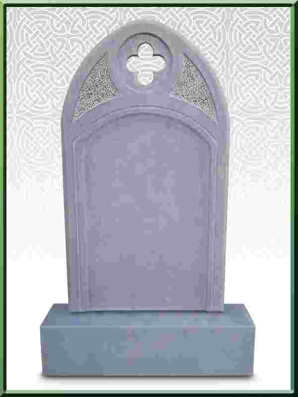 Limestone Headstone New Design No2