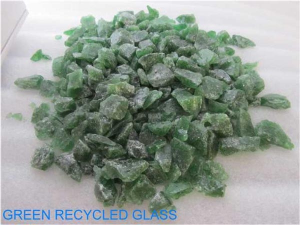 No 13 Green Recycled Glass