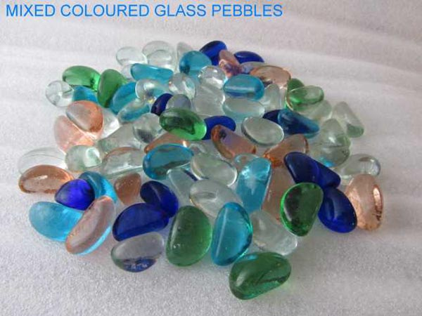 NO 3 Mixed Coloured Glass Chippings